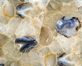 浅色水晶石材