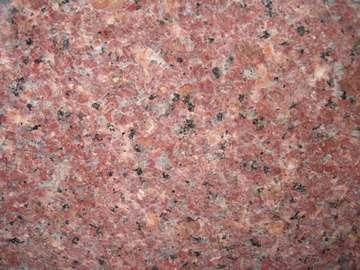 玫瑰红花岗岩板材