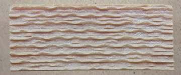 粉红玉波浪文化石