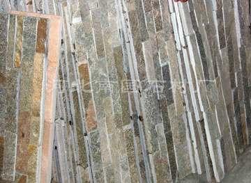 粉石英板岩胶粘文化石