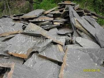 黑石英板岩乱型石