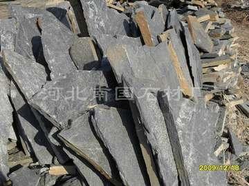 黑色板岩乱型石 河北蘑菇石