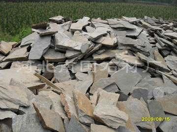 绿石英板岩乱型石