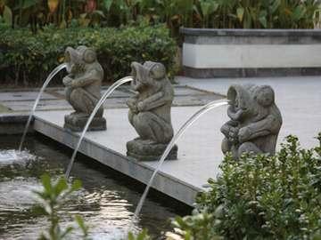 小型喷水雕刻1