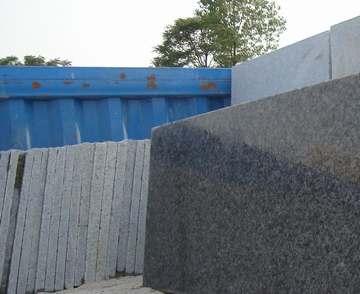 供应芝麻白花岗岩:抛光板