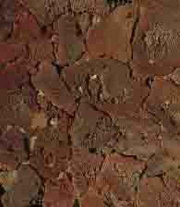 红色火山石(片状)