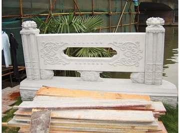 桥栏杆雕刻