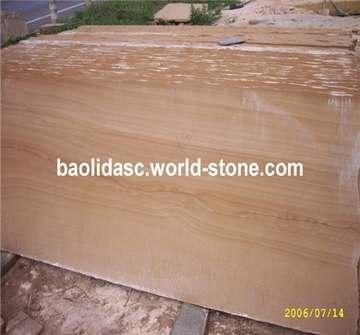 山水纹砂岩长条板