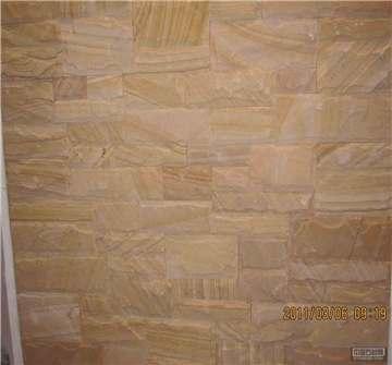 黄木纹砂岩文化墙