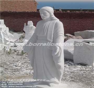 汉白玉大理石雕塑