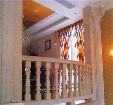 白砂岩室内窗台柱