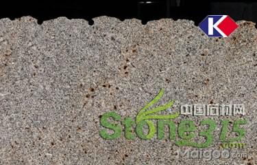 紫点金麻花岗岩石