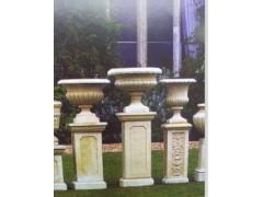 石雕公司长期供应石雕花钵 小石雕工