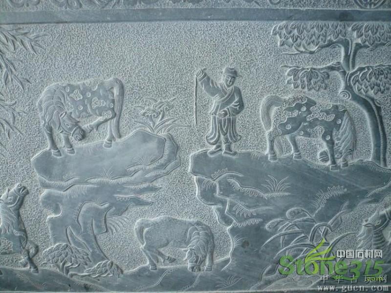 青山板石雕