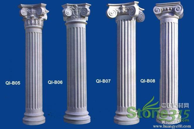 欧式罗马柱介绍欧式罗马柱贴图图片