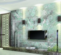石材背景墙设计效果图