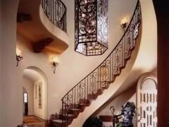 别墅石材楼梯 一道别开生面的风景线
