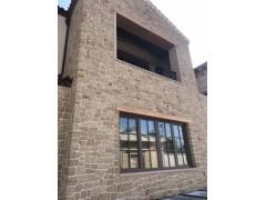 供应黄砂岩板材干挂板工程案例