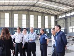 云浮市人大常委会副主任江壮宏到莱州市考察学习石材生产加工污染防治管理工作