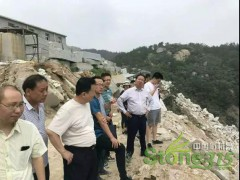黄冈市召开石材行业环境整治工作现场推进会