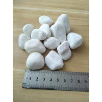 供应雪花白鹅卵石雨花石