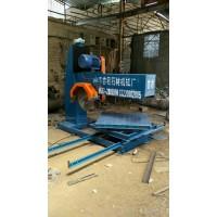 LS-800异型石材手拉切石机 栏杆开槽机 异型石材切割机械