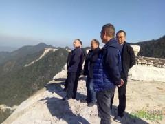 德兴市纪委书记李元涛龙头山乡督导石材整治工作