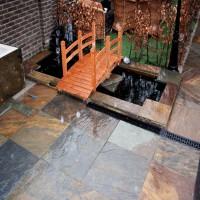 厂家直销天然绣色青石板绣石板园林庭院铺路石外墙文化石锈色地砖
