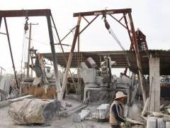 鹤庆县石材加工产业规范发展和提档升级