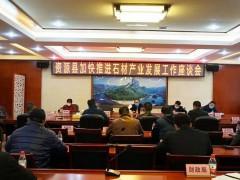 资源县召开加快推进石材产业发展工作座谈会