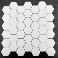 六角形白马赛克