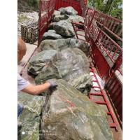 广东园林富贵绿石头 优质富贵绿 花园景观石