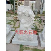 十二生肖花岗岩动物雕塑石材手工石雕工艺品园林摆件