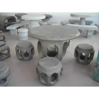 石桌椅花岗岩雕塑石材手工石雕工艺品居家庭院广场公园园林摆件