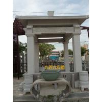 凉亭花岗岩雕塑石材手工石雕工艺品居家庭院广场公园园林摆件