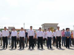 南安石材机械辅料展贸城项目开工仪式回顾