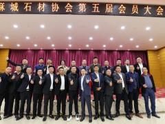 麻城市石材协会喜获抗击新冠先进商会组织