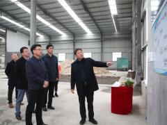 莱州市委书记于宁调研督导柞村镇石材产业